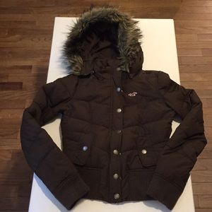 Girl's Holister Winter Jacket